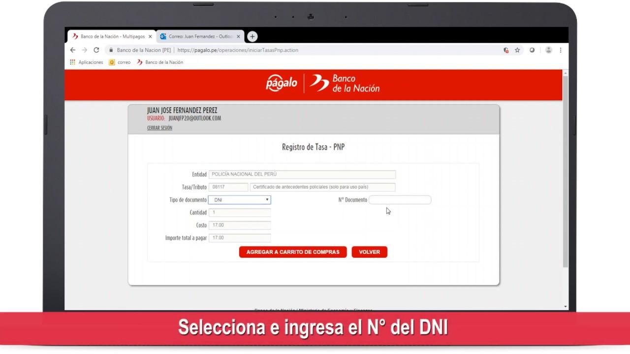 Cómo realizar el pago del CERAP Digital en www.pagalo.pe - YouTube
