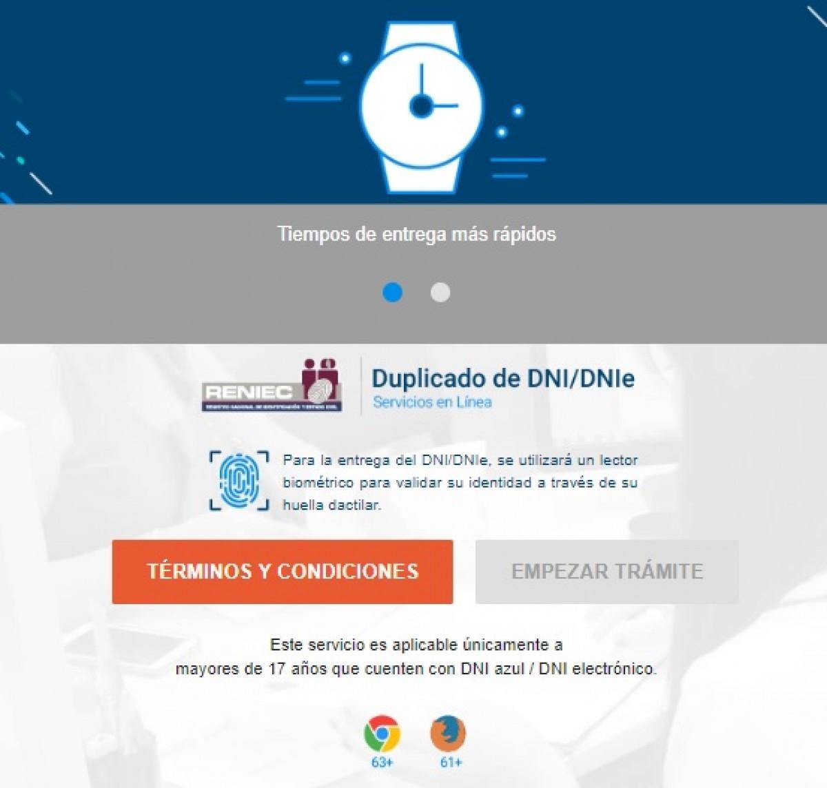 Reniec: consulta aquí cómo sacar duplicado de DNI por Internet online    Cuarentena Perú   LINK reniec gob pe   Cómo saber fecha de emisión del DNI    Reniec consulta DNI   FOTOS