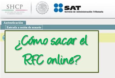 Sacar RFC en México