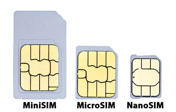 Cómo cortar una tarjeta SIM y convertirla en microSIM o nanoSIM