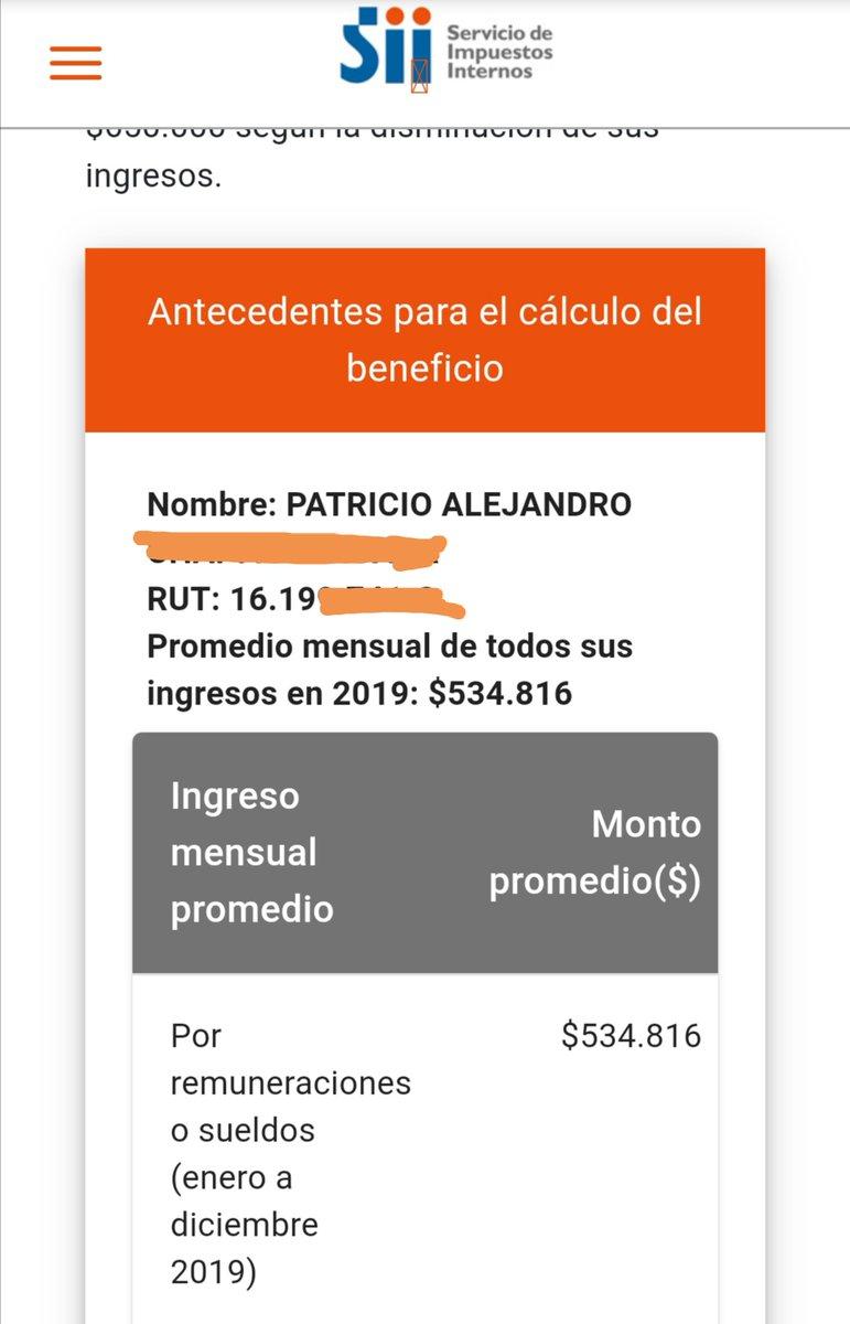 """DonPatolin on Twitter: """"#FraudeMaximoSII como se explica este descaro en  una semana muchos pasamos a ganar la mitad durante 2019. Si así cobra los  impuestos el @SII_Chile entiendo por qué estamos tan"""