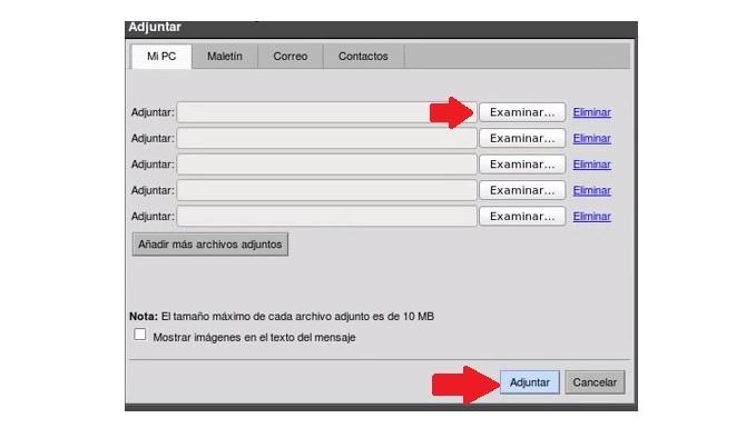 adjuntar archivos en zimbra afip -4-